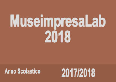 Museimpresa Lab 2018